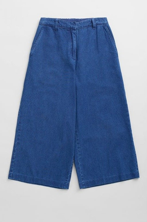 Seasalt Granite House Culottes - Mid indigo