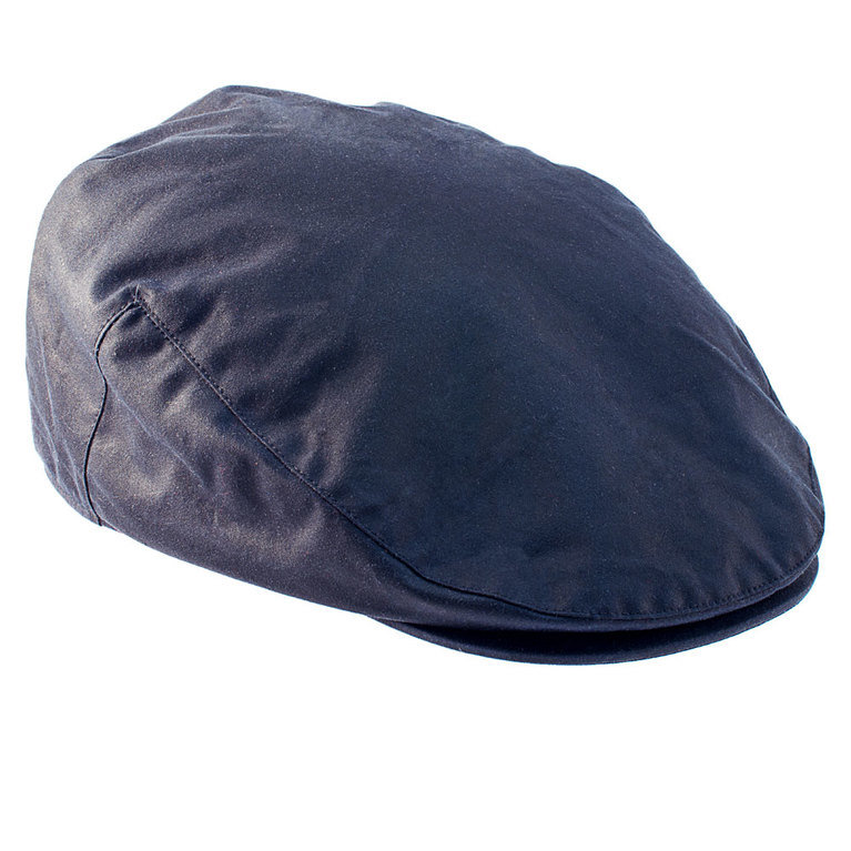 Heather Hat's Buchanan Wax Cap - Navy