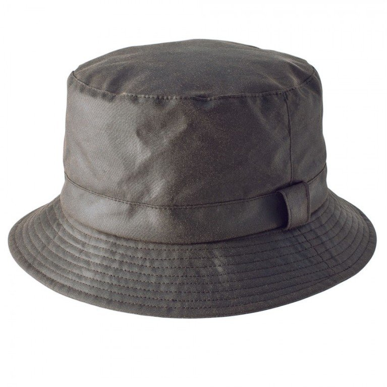 Heather Hats Johnston Wax Bush Hat - Olive