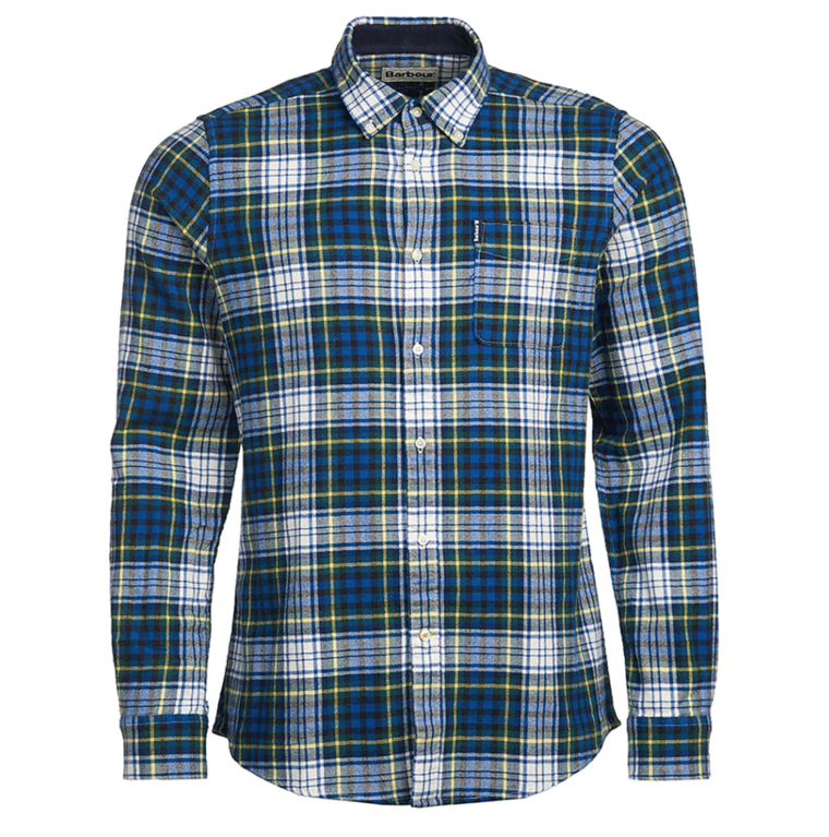 Barbour High Check 34 Shirt - Navy