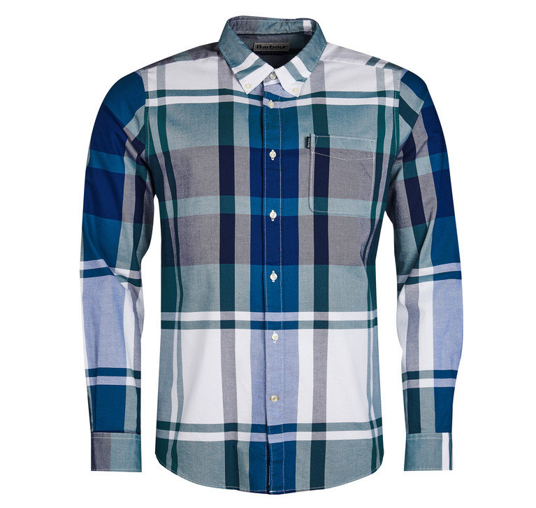 Barbour Highland 2 Tailored Shirt - Green