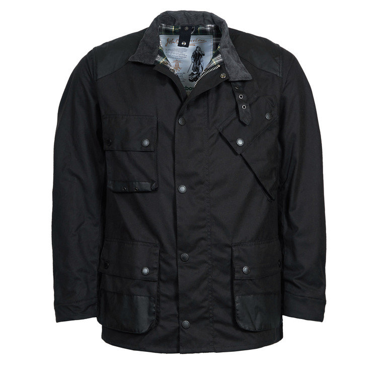 Barbour Icon International Wax - Black