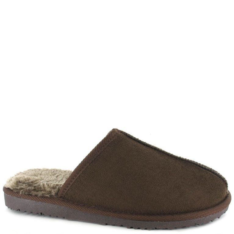 Jack Mule Slipper - Brown