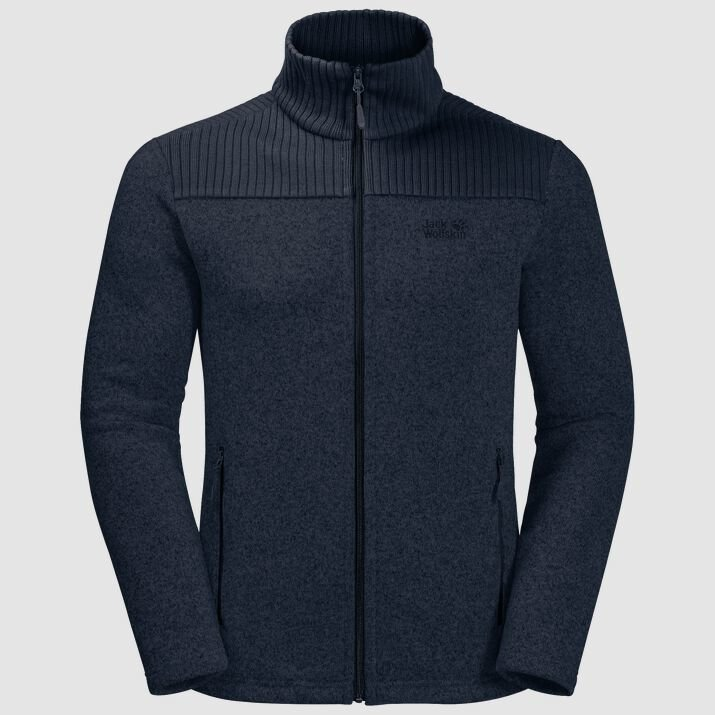 Jack Wolfskin Men's Scandic Bipolar Jacket  - Night Blue