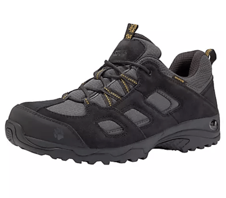 Jack Wolfskin Vojo Hike TXA Low  - Black