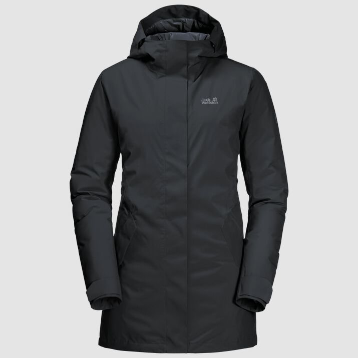 Jack Wolfskin Women's Cold Bay Coat - Phantom
