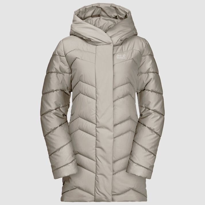 Jack Wolfskin Women's Kyoto 3/4 Coat - Dusty Grey