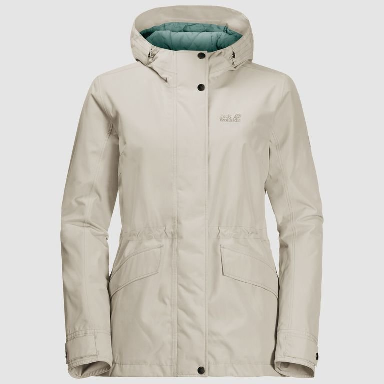 Jack Wolfskin Women's Lake Louise Jacket - Dusty Grey