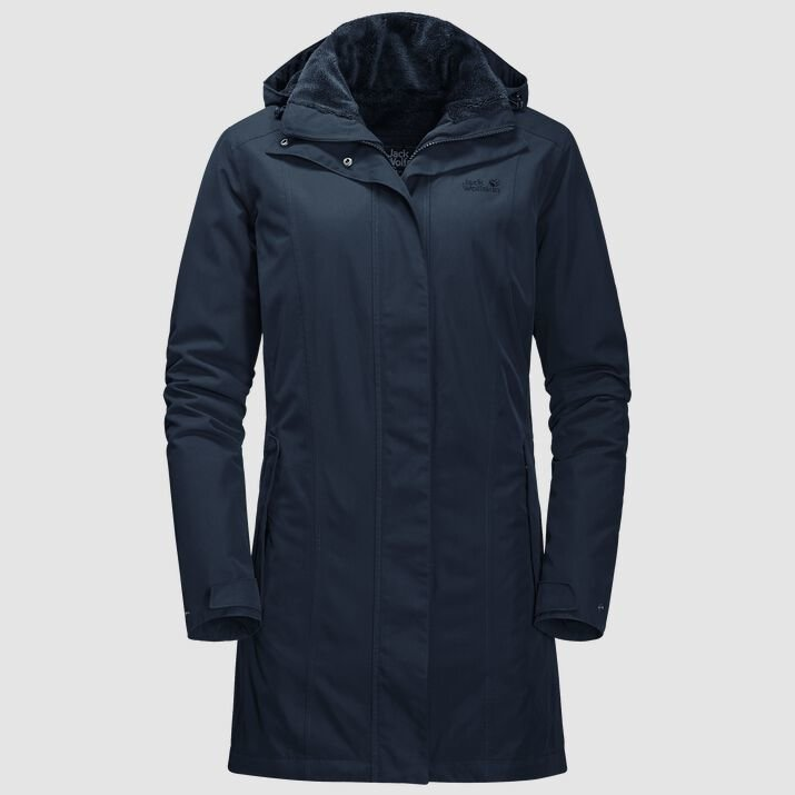 Jack Wolfskin Women's Madison Avenue Coat - Granite