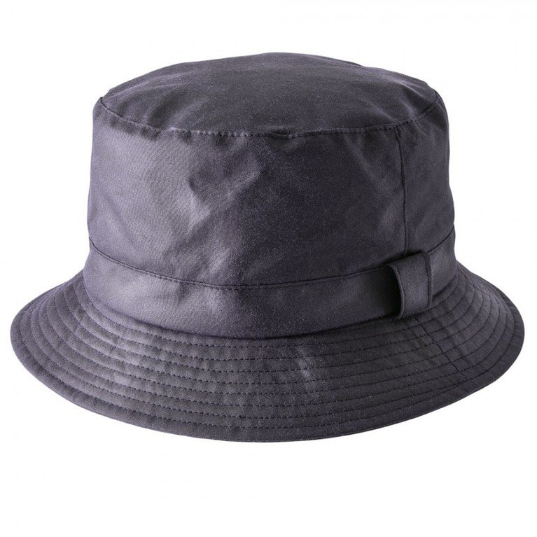Heather Hats Johnston Wax Bush Hats - Navy