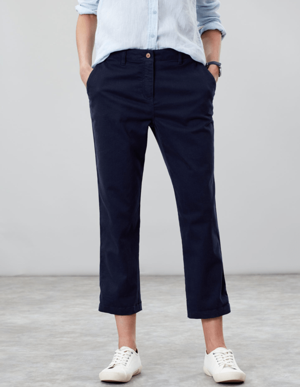 Joules Hesford Crop - French Navy
