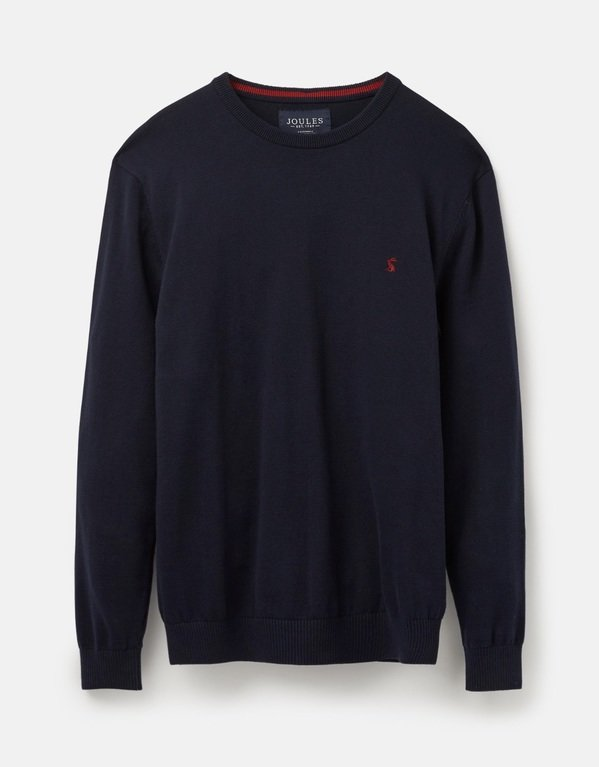 Joules Jarvis Crew Jumper - French Navy