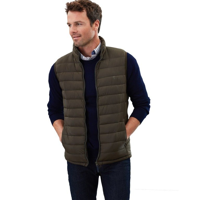 Joules Men's Go to Gilet - Green