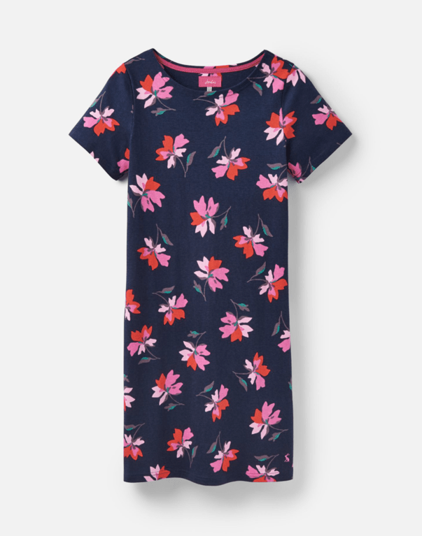 Joules Riviera Dress - Navy Floral