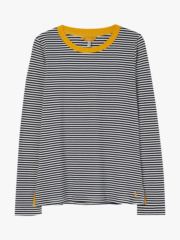 Joules Selma Stripe Top - Navy Stripe