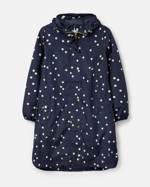 Joules Waybridge Coat - Navy Spot