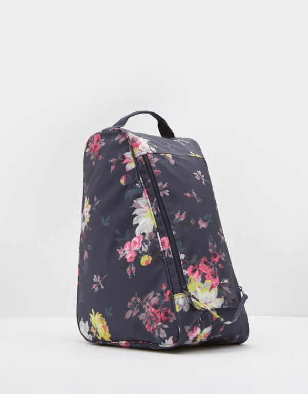 Joules Welland Welly Bag  - Navy Floral