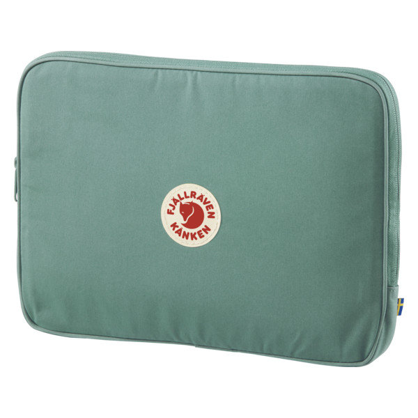 "Fjallraven Kanken Laptop Case 13"" - Frost/Green"