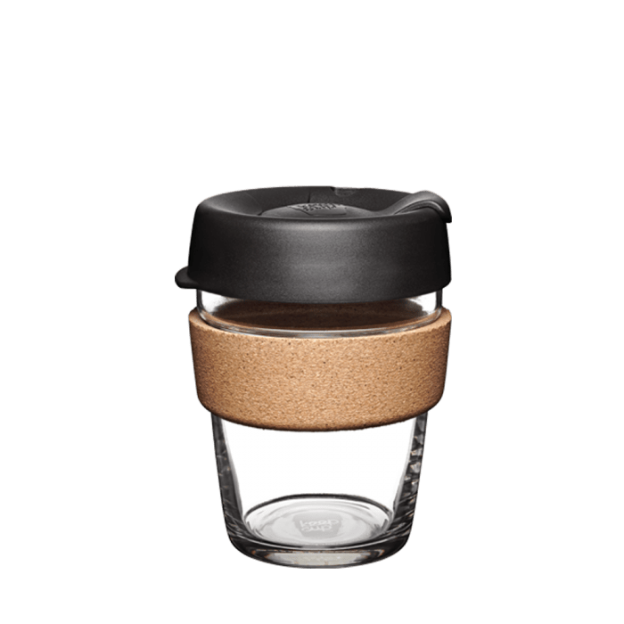 Keepcup Brew Cork 12oz - Black