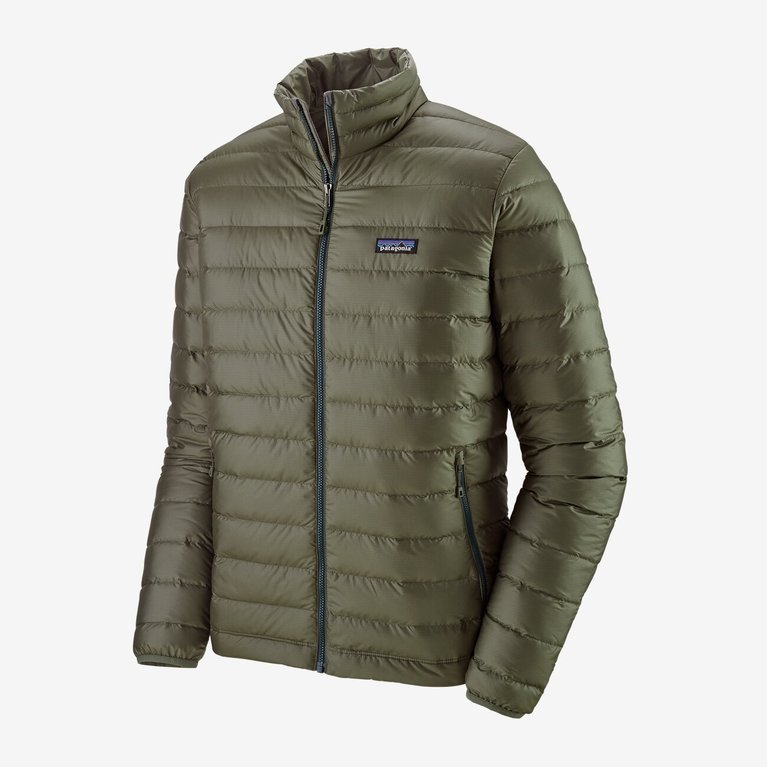 Patagonia Men's Down Sweater Jacket - Industrial Green