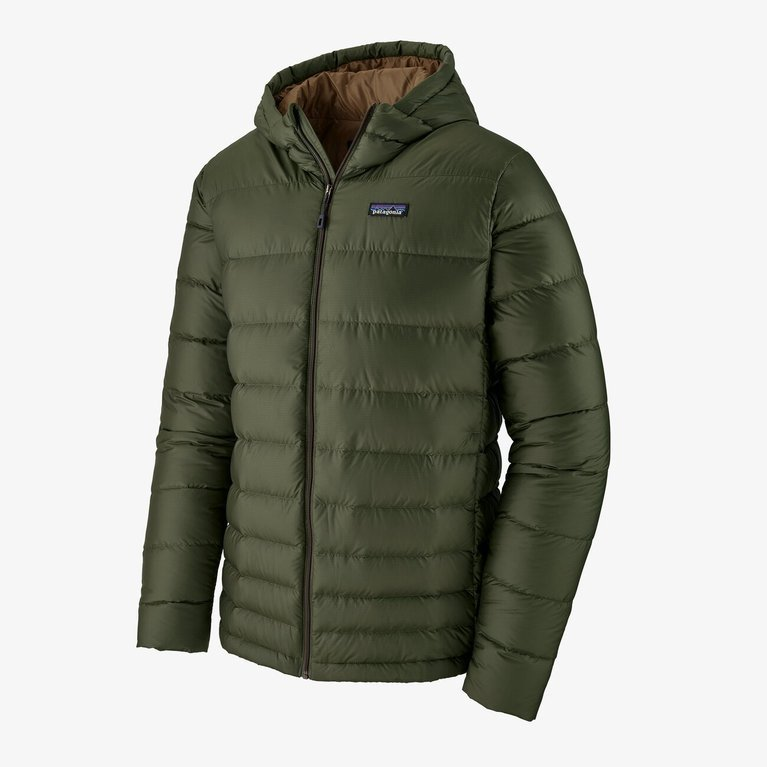 Patagonia Men's Hi-Loft Down Hoody - Kelp Green