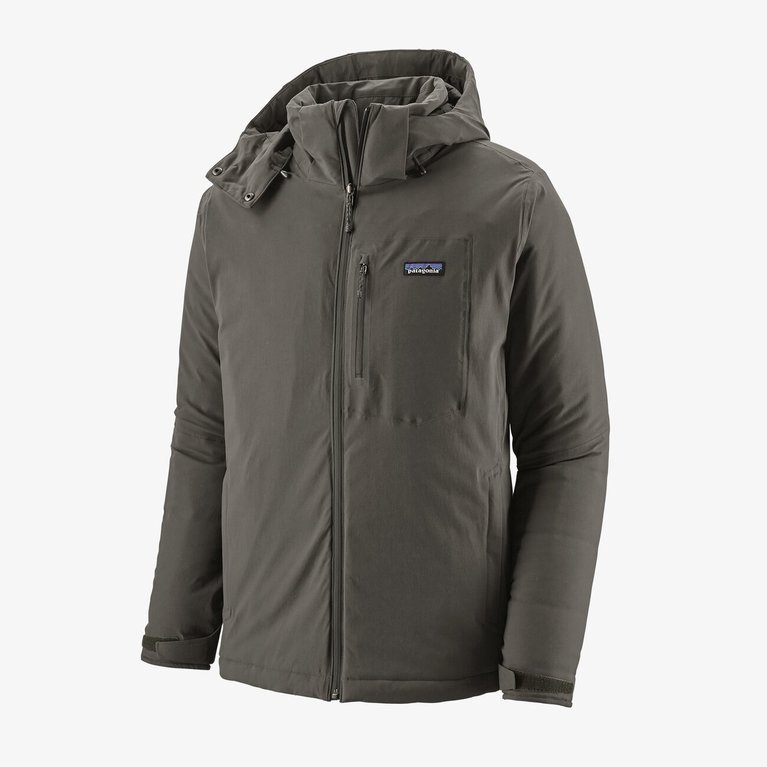 Patagonia Men's Insulated Quandary Jacket - Forge Grey