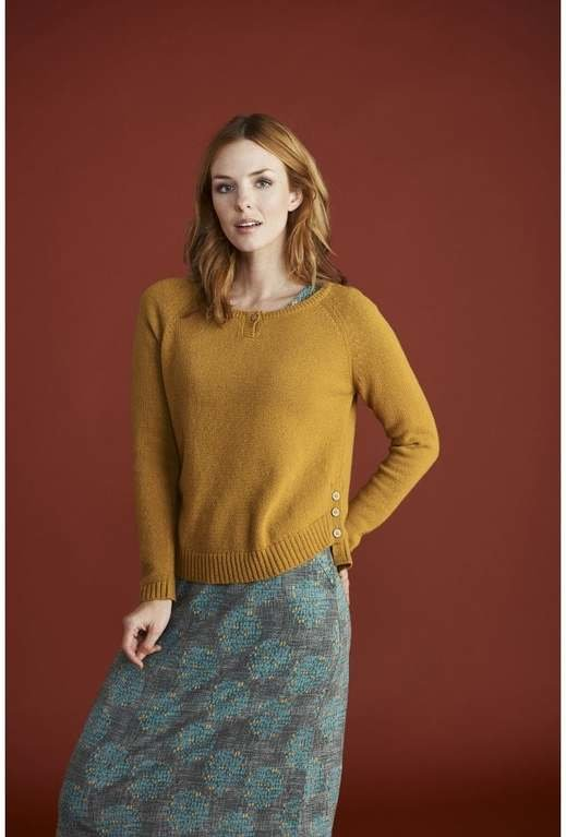 Mistral Mable Mushroom Jumper - Honey Yellow