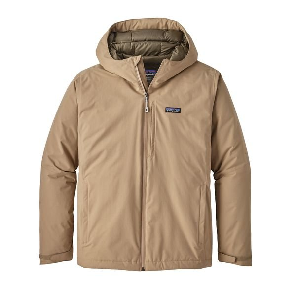 Patagonia Men's Windsweep Down Hoody Jacket - M/Khaki