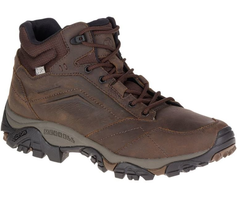 Merrell Moab Adventure Mid Waterproof - Dark Earth