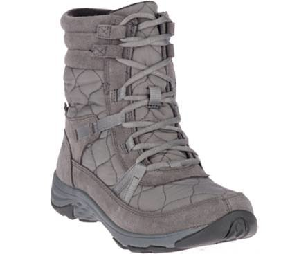 Merrell Women's Approach Nova Mid Lace Polar Waterproof Boot - Charcoal