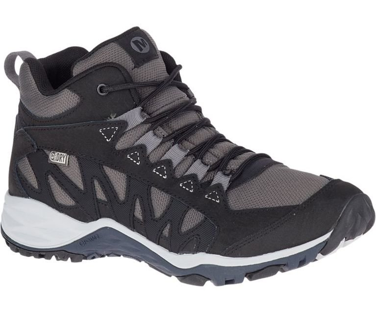 Merrell Women's Lulea Mid Waterproof - Black