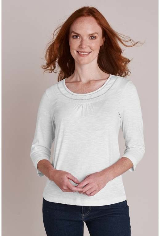 Mistral Basic 3/4 Sleeve - White
