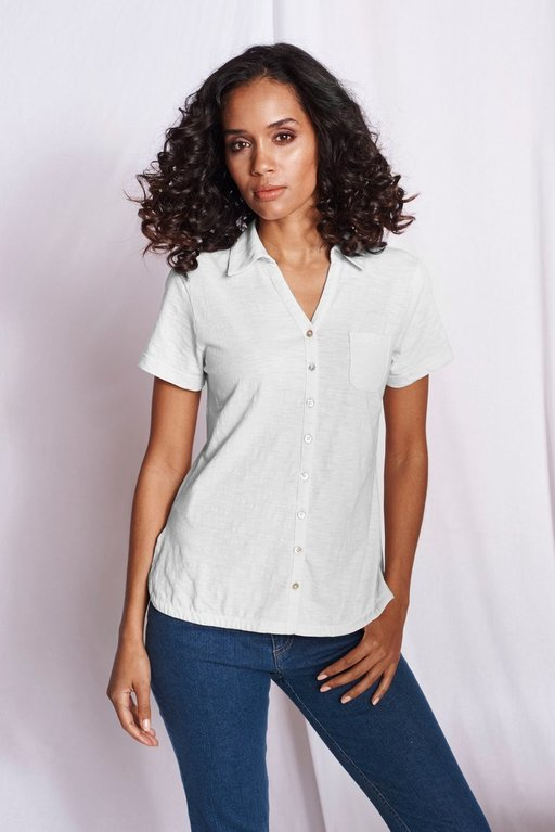 Mistral Short and Sweet Shirt  - White