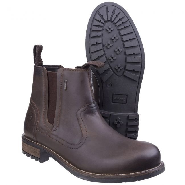 Cotswold Worcester Chelsea Boot - Brown