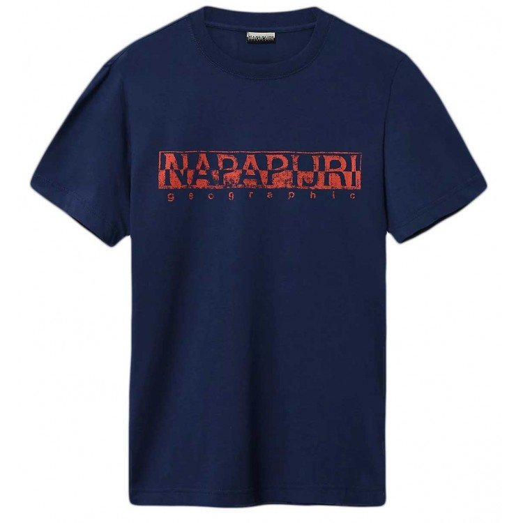 Napapijri Solanos Tee - Medium Blue