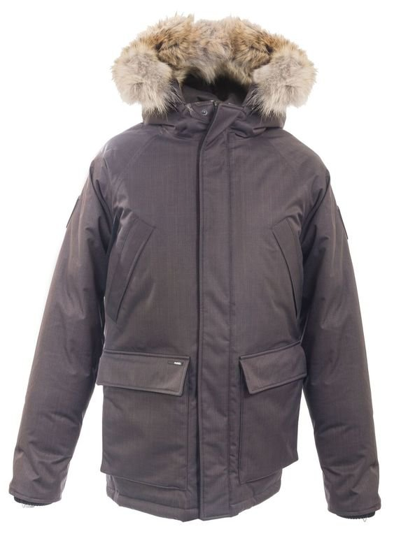 Nobis Heritage Men's Parka - Steel Grey