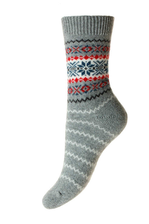 Pantherella Betty Cashmere Sock  - Flannel Grey