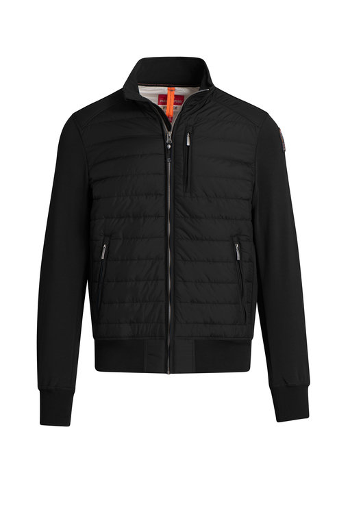 Parajumpers Elliot Baffle Jacket - Black