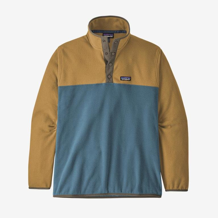 Patagonia Men's Micro D Snap-T Pullover - Pigeon Blue