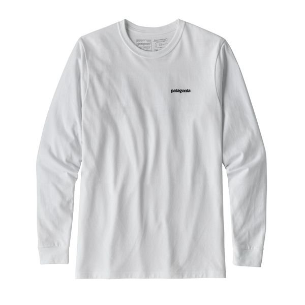 Patagonia Men's Long Sleeve Responsabili-Tee - White