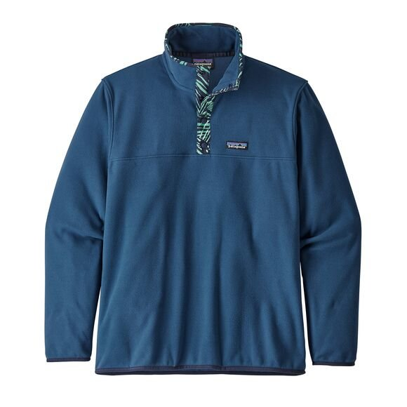 Patagonia Men's Micro D Snap T Pullover Fleece - Stone Blue