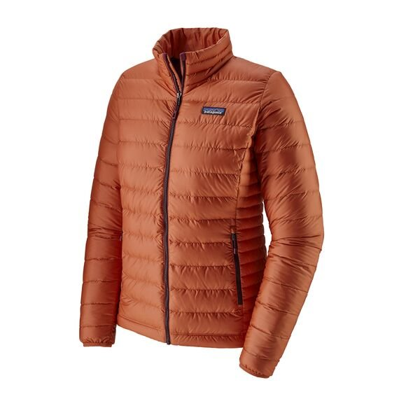 Patagonia Women's Down Sweater Jacket - S/Orange