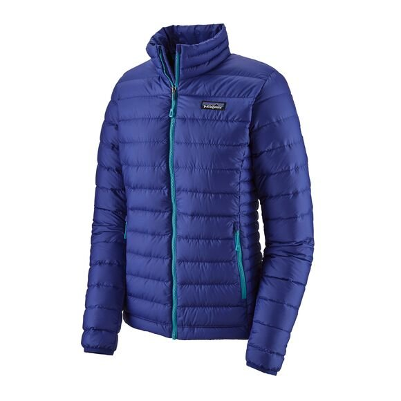 Patagonia Women's Down Sweater Jacket - Cobalt