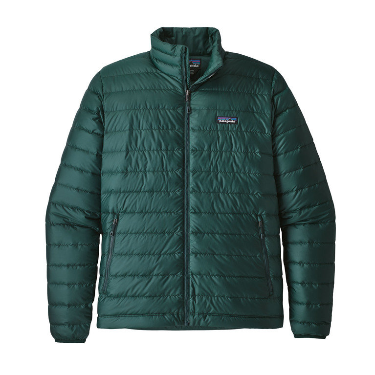 Patagonia M Down Sweater Jacket - Micro Green