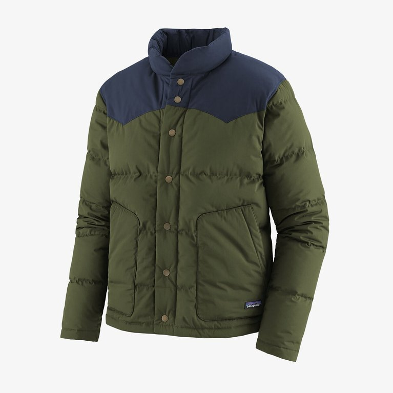 Patagonia Men's Bivy Down Jacket  - Kelp Forest