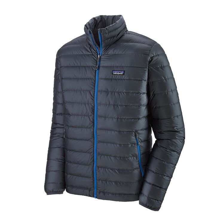 Patagonia Men's Down Sweater Jacket - Smoulder Blue/Andes Blue
