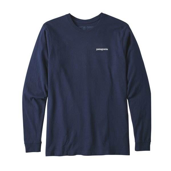 Patagonia Men's Long Sleeve Responsibili-Tee - Classic Navy