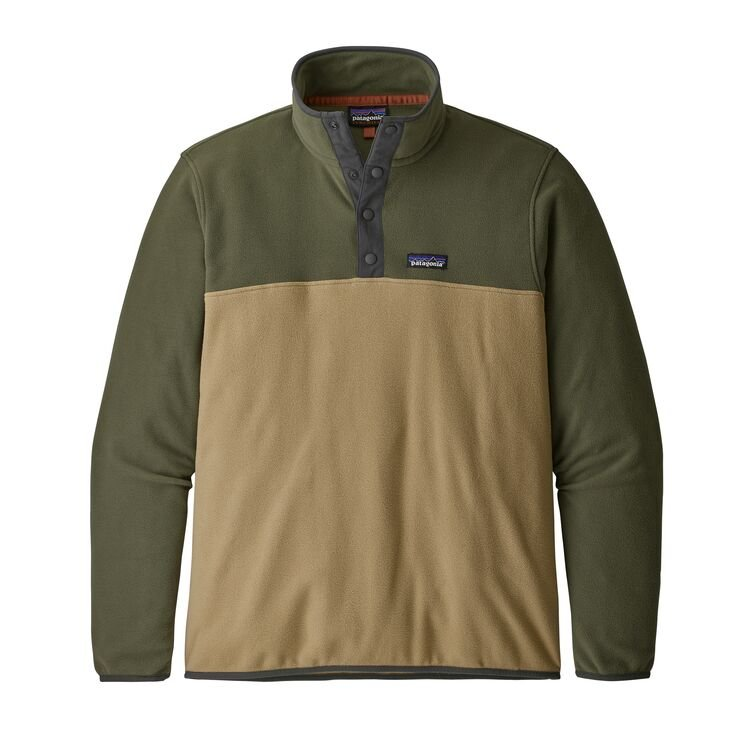 Patagonia Men's Micro D Snap-T Fleece Pullover - Classic Tan