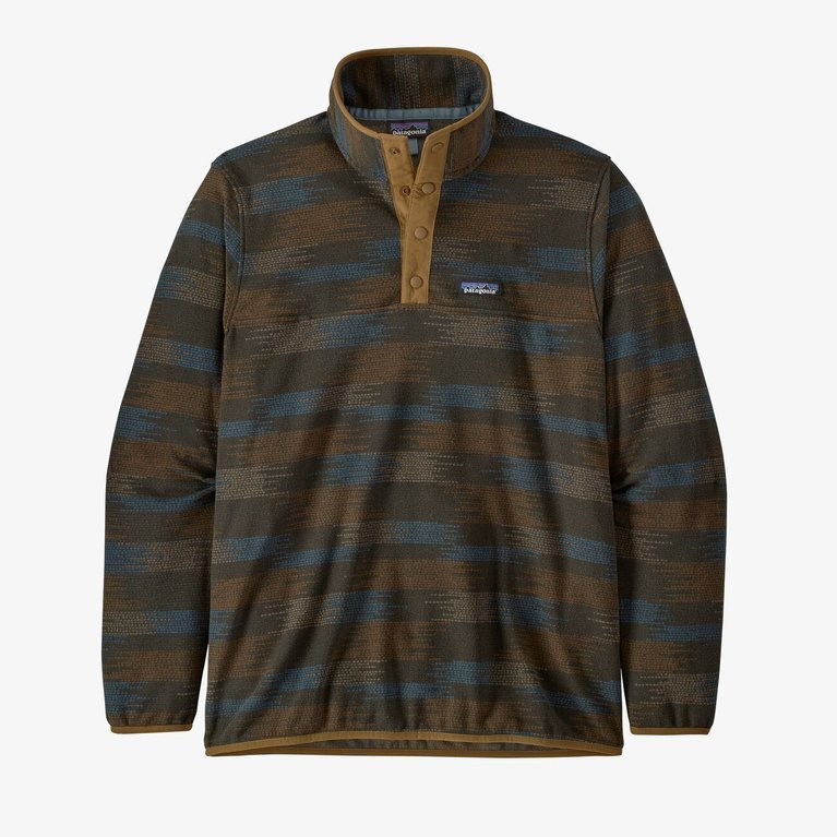Patagonia Men's Micro D Snap-T Pullover - Native Seeds Industrial Green