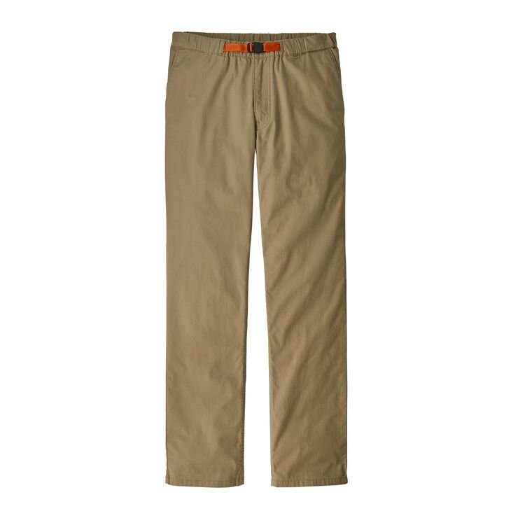 Patagonia Men's Organic Cotton Lightweight Gi Pants - Mojave Khaki